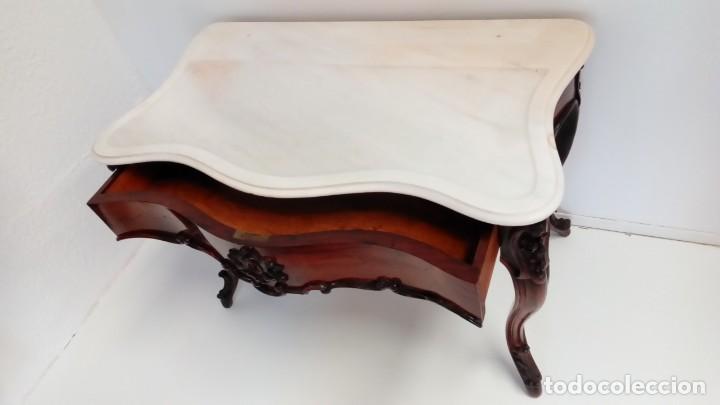 Antigüedades: consola francesa -lavatorio- - Foto 3 - 217115922