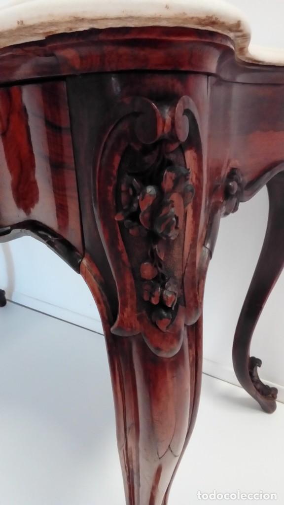 Antigüedades: consola francesa -lavatorio- - Foto 7 - 217115922