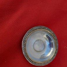 Antigüedades: PEQUEÑO PLATO POSIBLE PLATA. Lote 217133882