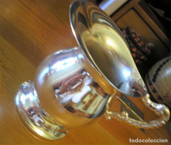 Antigüedades: EXCELENTE SERVICIO DE CAFÉ-TÉ Y BANDEJA EN ALPACA, A ESTRENAR - Foto 4 - 217157168