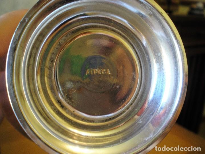 Antigüedades: EXCELENTE SERVICIO DE CAFÉ-TÉ Y BANDEJA EN ALPACA, A ESTRENAR - Foto 7 - 217157168