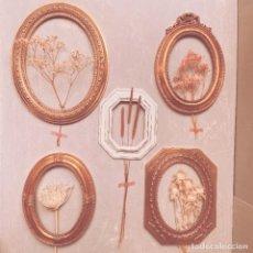 Antigüedades: BONITO LOTE DE MARCOS CLÁSICOS VINTAGE ANTIQUE UNIQUE. Lote 217168208