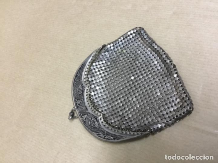 Antigüedades: Antiguo bolso monedero plata ? - Foto 2 - 217182498