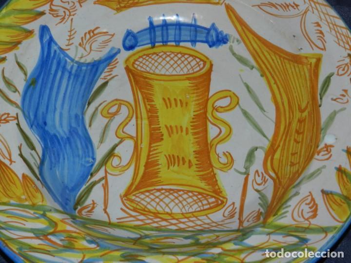 Antigüedades: (M) ANTIGUO PLATA DE RIBESALBES - 35 CM, BUEN ESTADO DE CONSERVACIÓN - Foto 2 - 217212780