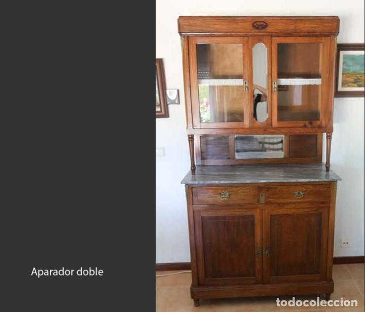 APARADOR DOBLE (Antigüedades - Muebles Antiguos - Aparadores Antiguos)
