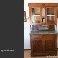 Antigüedades: APARADOR DOBLE. Lote 217215727