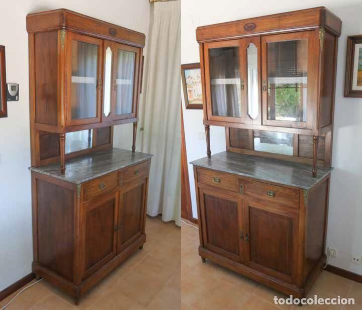 Antigüedades: APARADOR DOBLE - Foto 2 - 217215727