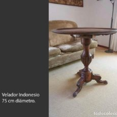 Antigüedades: VELADOR INDONESIO 75 CM DIÁMETRO. Lote 217218841