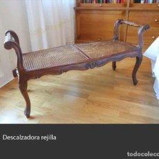 Antigüedades: DESCALZADORA DE REJILLA. Lote 217220687