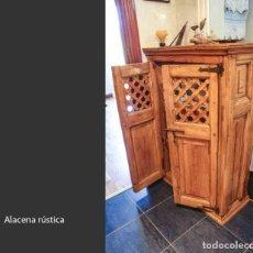 Antigüedades: ALACENA RÚSTICA. Lote 217222771