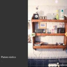 Antigüedades: PLATERO RÚSTICO. Lote 217222960