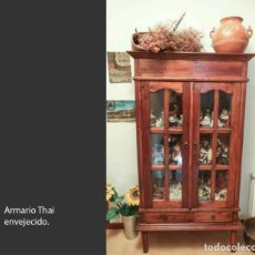 Antigüedades: ARMARIO THAI ENVEJECIDO. Lote 217223218
