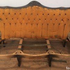 Antigüedades: ESTRUCTURA DE SOFÁ ESTILO ISABELINO. Lote 217229495