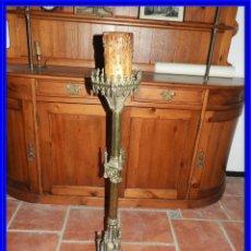 Antigüedades: FANTASTICO HACHERO GOTICO DE IGLESIA. Lote 217237883