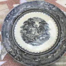 Antigüedades: ANTIGUO PLATO DE LOZA. Lote 217341425