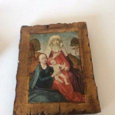 Antigüedades: RETABLO RELIGIOSO. Lote 217347416