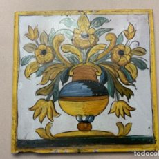 Antigüedades: GRAN AZULEJO CATALÁN (S.XX SIGUIENDO MODELOS S.XVII). Lote 217370798