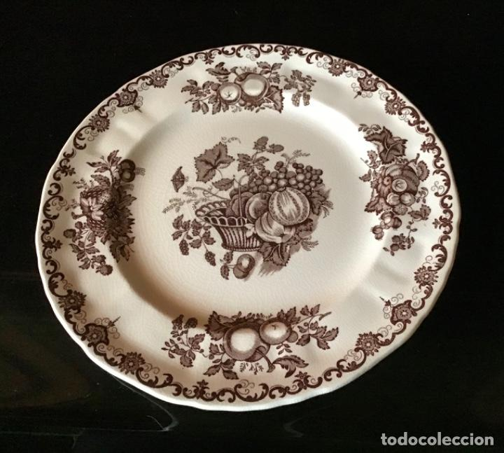 Antigüedades: Vajilla inglesa Mason's : Fruit basket nueva muy completa :68 piezas - Foto 2 - 217389340