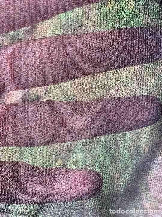 Antigüedades: Impecable antiguo velo , manton o mantilla de duelo. Mide aprox 2x1mt - Foto 4 - 217413596