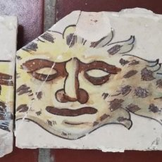 Antigüedades: MASCARÓN ESCALERA VALENCIANA SIGLO XVIII. Lote 217430171
