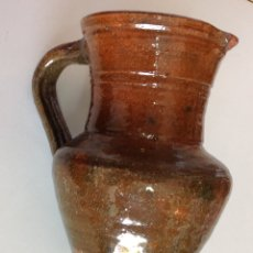 Antigüedades: JARRITA, CERAMICA DE ALGORA, VIDRIADO RÚSTICO, 15X14X10 CM.. Lote 217438087