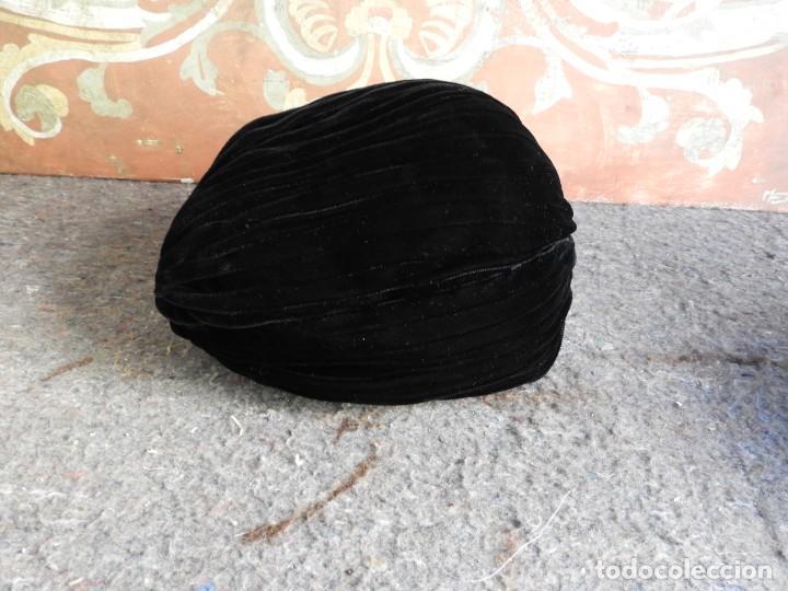 Antigüedades: PAREJA DE SOMBREROS DE FIESTA ANTIGUOS - Foto 10 - 217501702