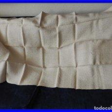 Antigüedades: SABANA DE CAÑAMO ANTIGUA 220 X 90 CM. Lote 217501995