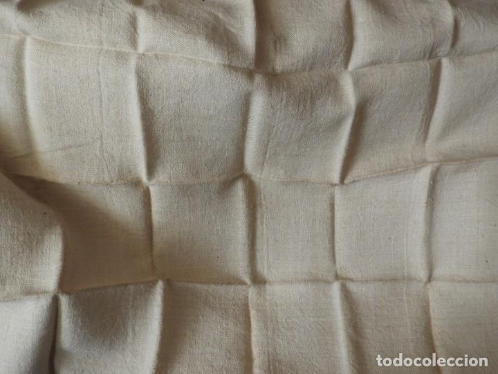 Antigüedades: SABANA DE CAÑAMO ANTIGUA 220 X 90 CM - Foto 3 - 217501995