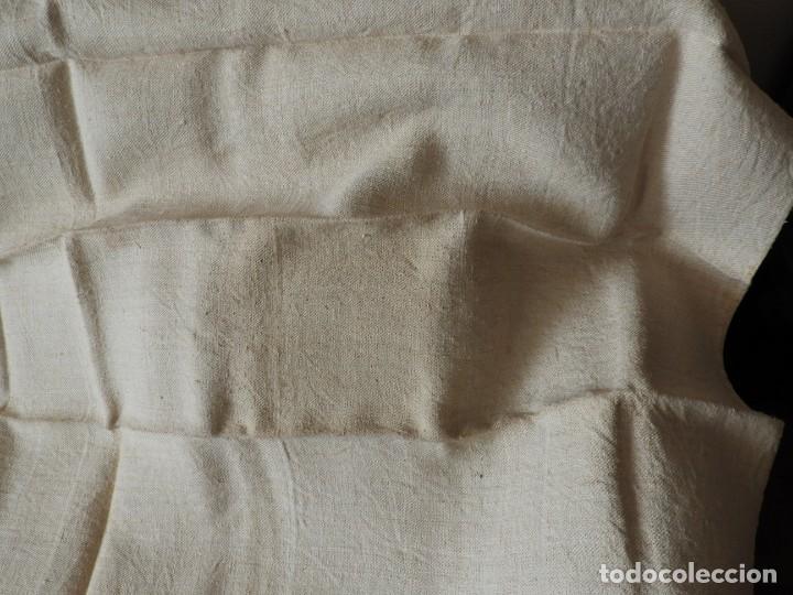 Antigüedades: SABANA DE CAÑAMO ANTIGUA 220 X 90 CM - Foto 4 - 217501995