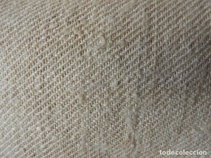 Antigüedades: SABANA DE CAÑAMO ANTIGUA 220 X 90 CM - Foto 5 - 217501995