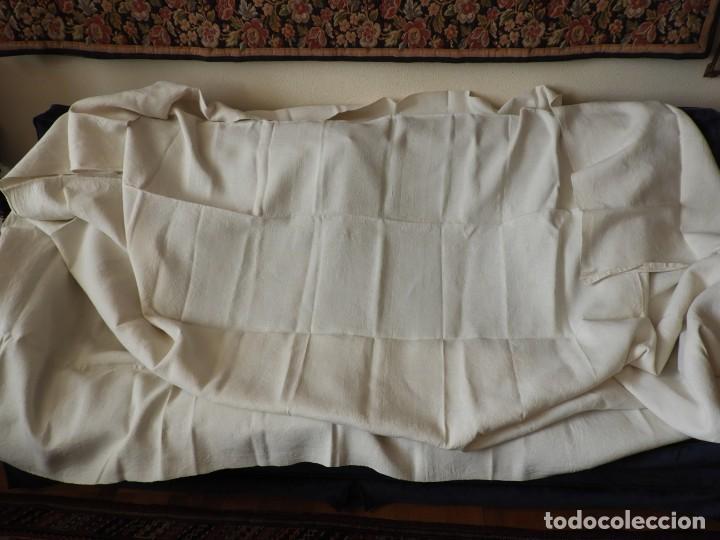 Antigüedades: SABANA DE CAÑAMO FINO DE 270 X 168 CM - Foto 6 - 217502005