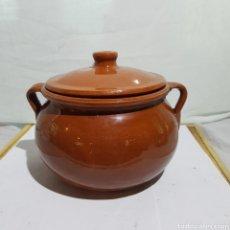 Antigüedades: ANTIGUA OLLA/PUCHERO CERAMICA. Lote 217506125