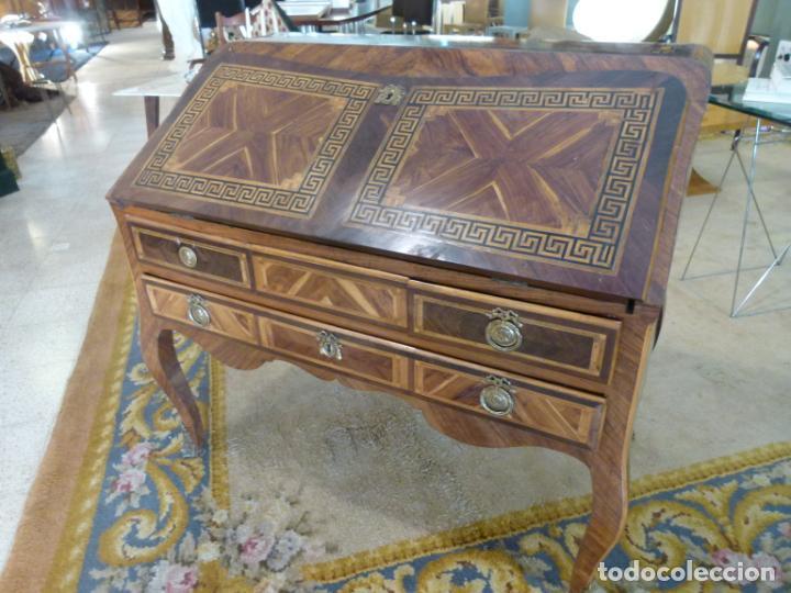 Antigüedades: ESCRITORIO FRANCES SIGLO XVIII - Foto 2 - 217514700