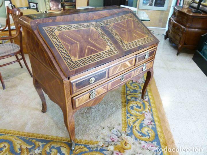 Antigüedades: ESCRITORIO FRANCES SIGLO XVIII - Foto 3 - 217514700