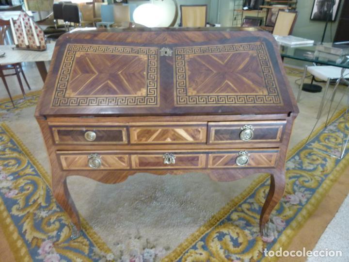 Antigüedades: ESCRITORIO FRANCES SIGLO XVIII - Foto 4 - 217514700