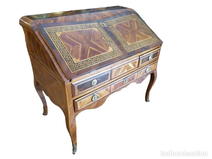 ESCRITORIO FRANCES SIGLO XVIII (Antigüedades - Muebles Antiguos - Escritorios Antiguos)