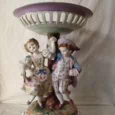 Antigüedades: GRAN FRUTERO DE PORCELANA CENTROEUROPEA.. Lote 217522485