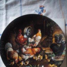 Antigüedades: PLATO DE PORCELANA TIRSCHENREUTH BAVARIA GERMANY DIE AUFMERKSAMEN HENNEN 1991,EDICIÓN LIMITADA.. Lote 217524616