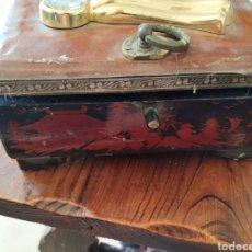 Antigüedades: CAJITA MUSICAL JOYERO ANTIGUO, FUNCIONA. Lote 217528375
