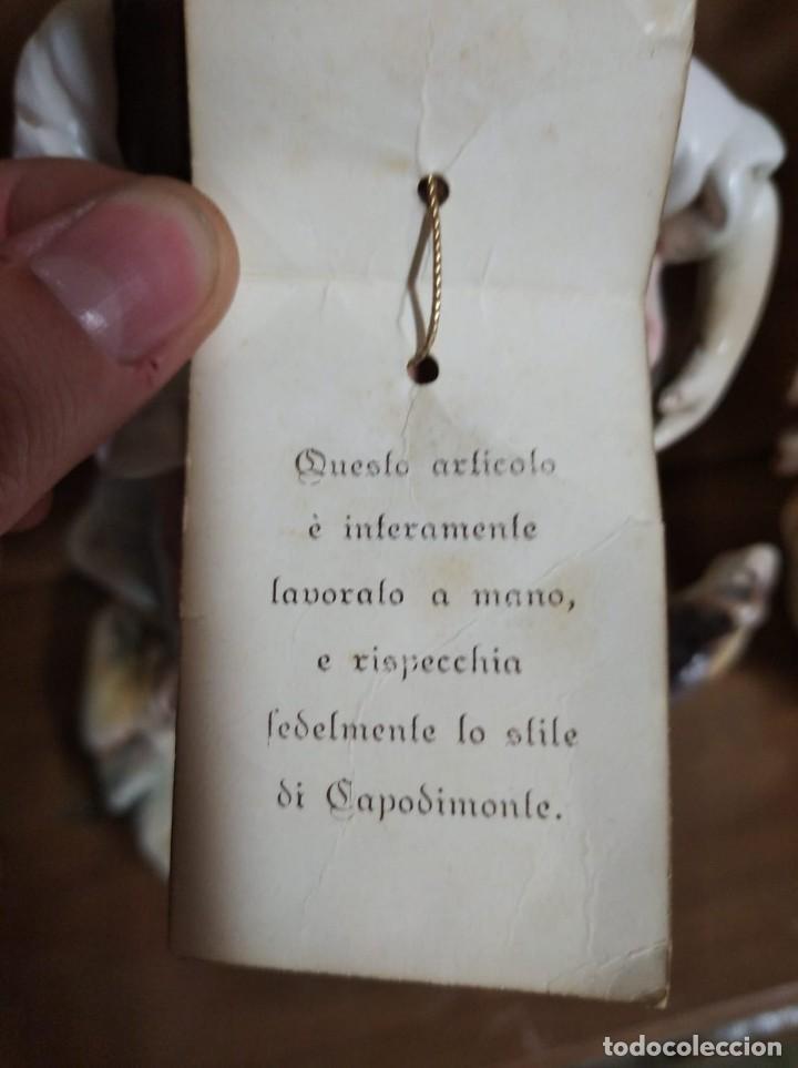 Antigüedades: Pareja de figuras Capodimonte. - Foto 8 - 217544316