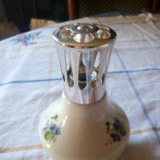 Antigüedades: LAMPE BERGER MADE IN FRANCE PARIS ,DE PORCELANA ,PARA AROMAS.. Lote 217568411