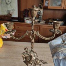 Antigüedades: CANDELABRO VINTAGE. Lote 217576463