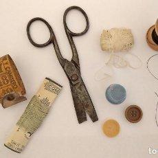 Antigüedades: ANTIGUO JUEGO DE COSTURA. Lote 217607987