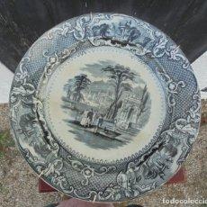 Antigüedades: PLATO ESPAÑOL SAN JOAN AZNALFARACHE. Lote 217619180
