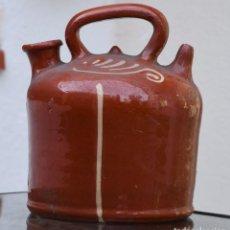 Antigüedades: ANTIGUO BOTIJO DE BARCA - LA BISBAL. Lote 217622095