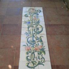 Antigüedades: P8 30 AZULEJOS ANTIGUOS SIGLO XIX SOBRE 1850. Lote 217673522