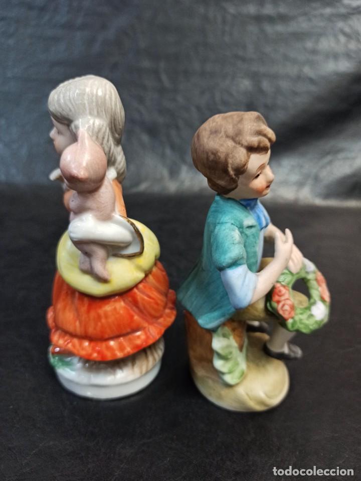 Antigüedades: Pareja de niños. C28 - Foto 4 - 217689673