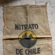 Oggetti Antichi: SACO ANTIGUO DE NITRATO DE CHILE MEDIDAS: 100 X 61 CMS.. Lote 217690065