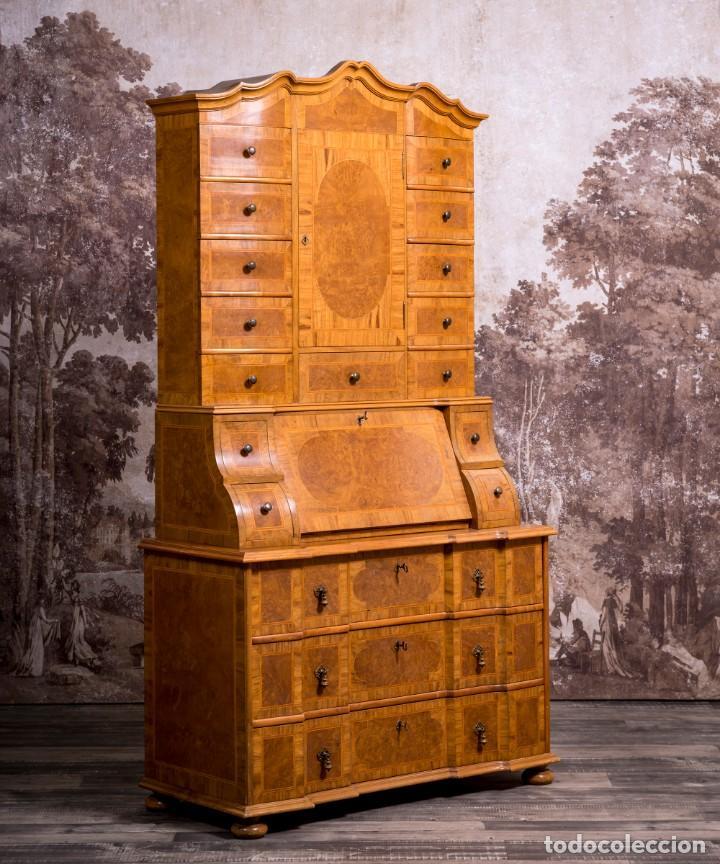BUREAU BOOKCASE (Antigüedades - Muebles Antiguos - Escritorios Antiguos)