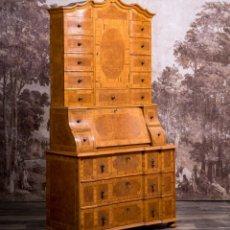 Antigüedades: BUREAU BOOKCASE. Lote 217718983